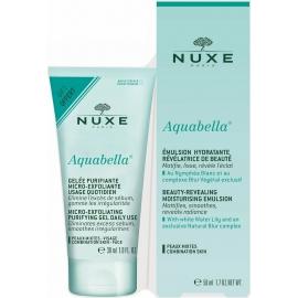 Nuxe Aquabella Emulsion Hydratante 50 ml + Gelée Purifiante 30 ml Offerte