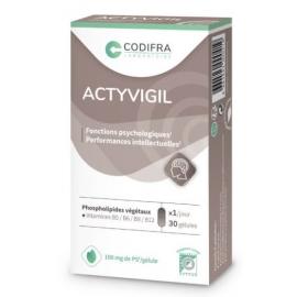Codifra Actyvigil - Compétences intellectuelles 30 gélules