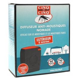 Cinq sur cinq Diffuseur Nomade Anti-moustiques
