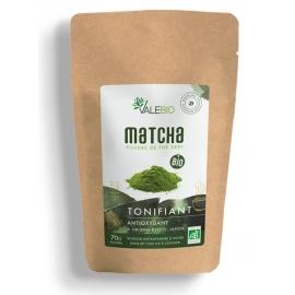 Valebio Thé vert Matcha Bio 70 g