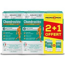 Chondostreo Articulations 90 comprimés x 2 + 1 boîte offerte