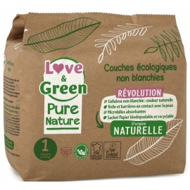 Love&Green Couches écologiques Pure Nature Taille 1 x 32