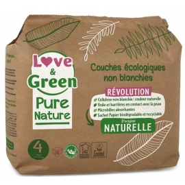 Love&Green Couches écologiques Pure Nature Taille 4 x 38