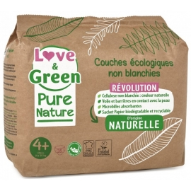 Love&Green Couches écologiques Pure Nature Taille 4plus x 35