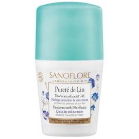 Sanoflore Déodorant Bille Pureté de lin 50 ml