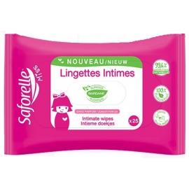 Saforelle Lingettes Intimes Miss x25
