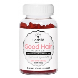 Lashilé Good Hair Vitamines Boost x60 gommes