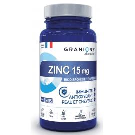 Granions Zinc 15mg 60 gélules