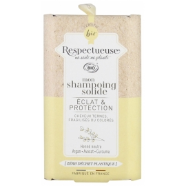 Respectueuse Mon Shampoing Solide Eclat & Protection 75g