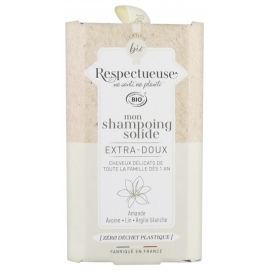 Respectueuse Mon Shampoing Solide Extra Doux 75g