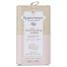 Respectueuse Mon Shampoing Solide Nutritif 75g