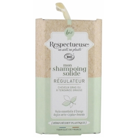 Respectueuse Mon Shampoing Solide Regulateur 75g