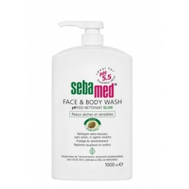Sebamed face & body wash pH 5.5 olive 1 l