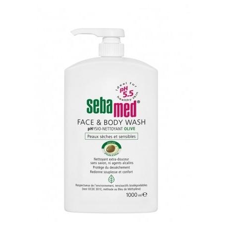 Sebamed face & body wash pH 5.5 olive 1 l