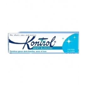 Kontrol Dentifrice Dents Blanches 75 ml