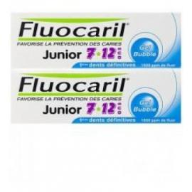 Fluocaril Gel Gout Bubble Junior 7/12 Ans 2 X 50 ML