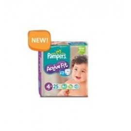 Pampers ActiveFit 4 maxi  7-18 kg x 24