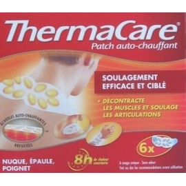 Thermacare Patch Chauffant Antidouleur Nuque 6 Patchs