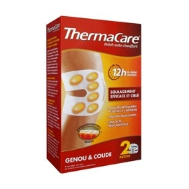 Thermacare Patch Chauffant Antidouleur Genou et Coude 2 Patchs