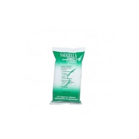 Saugella Lingettes Antiseptique Naturel X 15