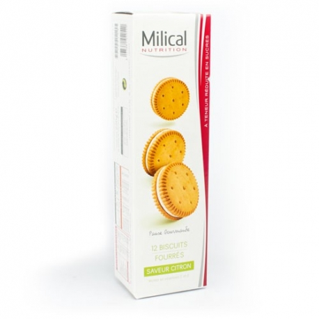 Milical 12 Biscuits Saveur Citron