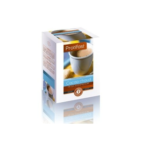 Protifast En-cas Hyperproteine Cacao Chaud 7 Sachets