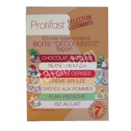 Protifast En-cas Hyperproteine Selection Gourmande Decouverte Preparation Pour 7 Sachets