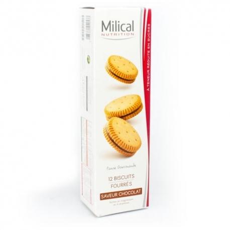 Milical 12 Biscuits Saveur Chocolat
