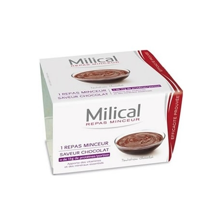 Milical Coupelle Chocolat 1 x 210 g