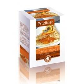 Protifast En-cas Hyperproteine Crepe Orange 7 Sachets