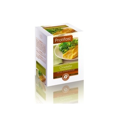 Protifast En-cas Hyperproteine Omelette Aux Fines Herbes 7 Sachets
