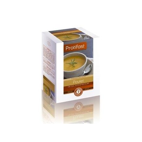 Protifast En-cas Hyperproteine Preparation Pour Veloute Poulet 7 Sachets