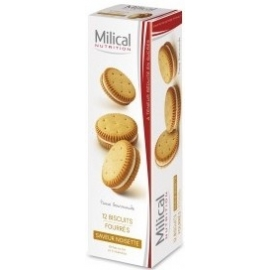 Milical 12 Biscuits Saveur Noisette