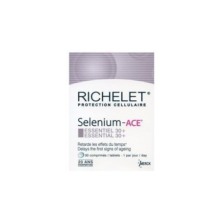 Selenium Ace Anti Age 30 Comprimes