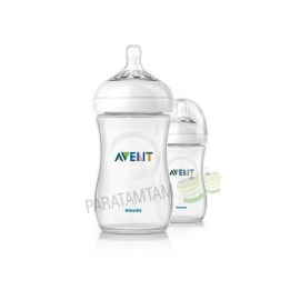 Avent natural biberon 260 ml x2