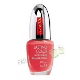 Pupa Vernis à ongles Lasting Color 509  Fluo Coral 5 ml