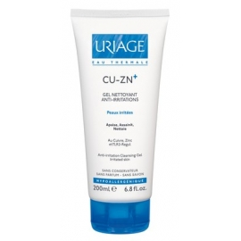 Uriage CU-ZN Gel Nettoyant Anti-irritations 200 ml
