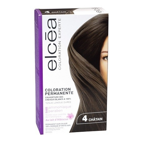 Elcea Coloration Permanente Chatain 4