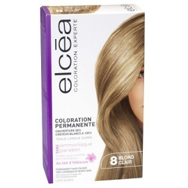 Elcea Coloration Permanente Blond Clair 8