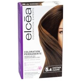 Elcea Coloration Permanente Chatain Cuivre 5,4