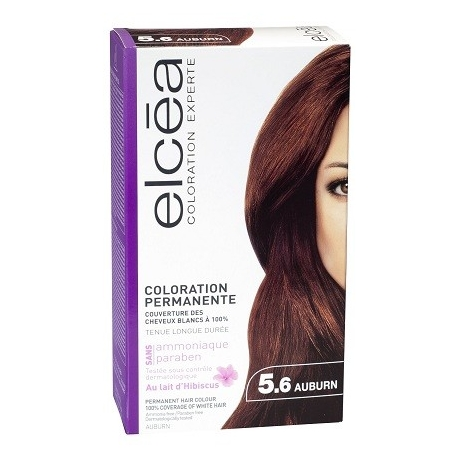Elcea Coloration Permanente Auburn 5,6
