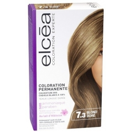 Elcea Coloration Permanente Blond Doré 7.3