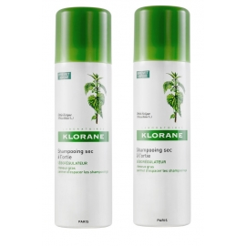 Klorane Capillaire Shampooing Sec A L'ortie 2 x 150 ml