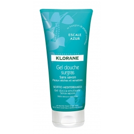 "Klorane Gel Douche Surgras ""Escale d'Azur"" 200 ml"