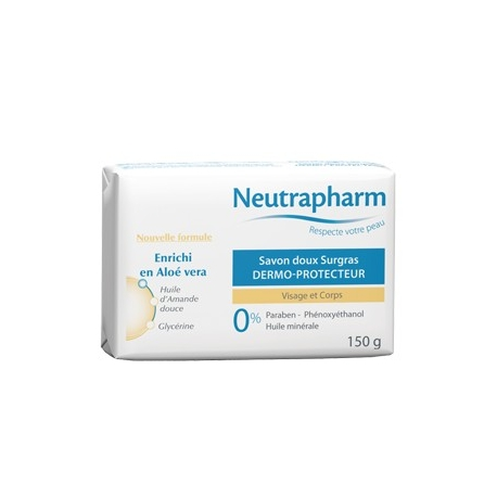 Neutrapharm Savon Surgras Dermo-Protecteur 150 g